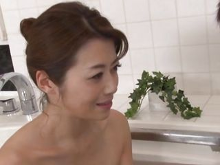 horny nippon mature delights her man