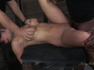 deep brutal fuck threesome