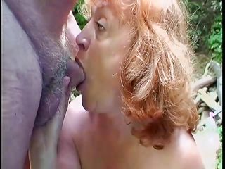 grandma goes wild on grandpa's cock
