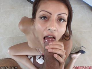 shay parker get the cum on her face