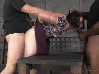 dirty slut is tied up and broken