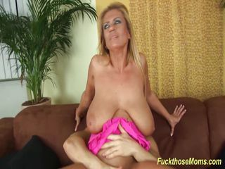 busty blonde stepmom needs a hard cock