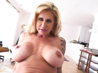 luscious milf craves for a hard dick