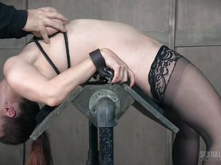 slave takes it from both ends