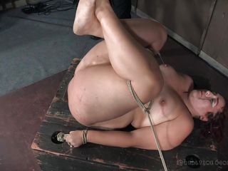 brutal ass whipping made her squirt