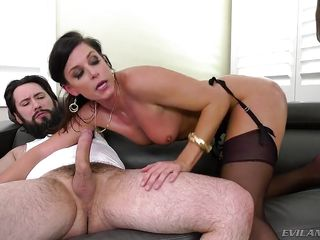 lusty milf india summer satisfys 4 cocks at once @ lewood gangbang: battle of the milfs #02