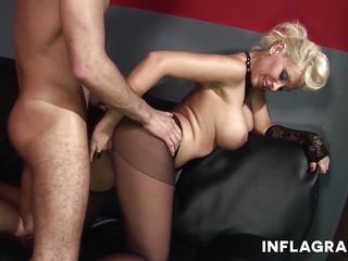 milf german pornstar and her pantyhose