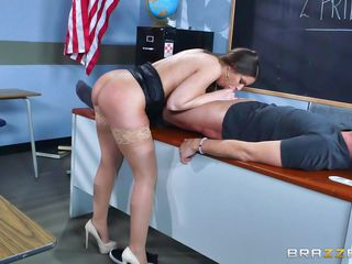 erotic action in the classroom with teacher