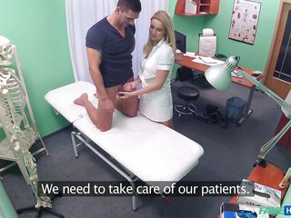 naughty doctor fucked hard by patient