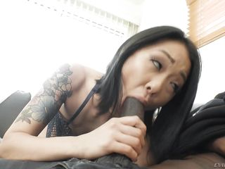 sexy asian milf loves big black cock @ dark meat #10